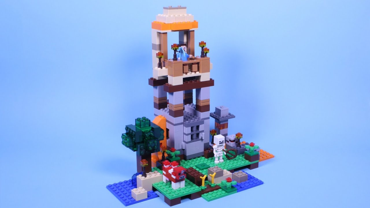 lego minecraft building instructions