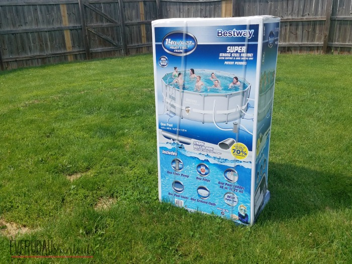 bestway power steel frame pool instructions