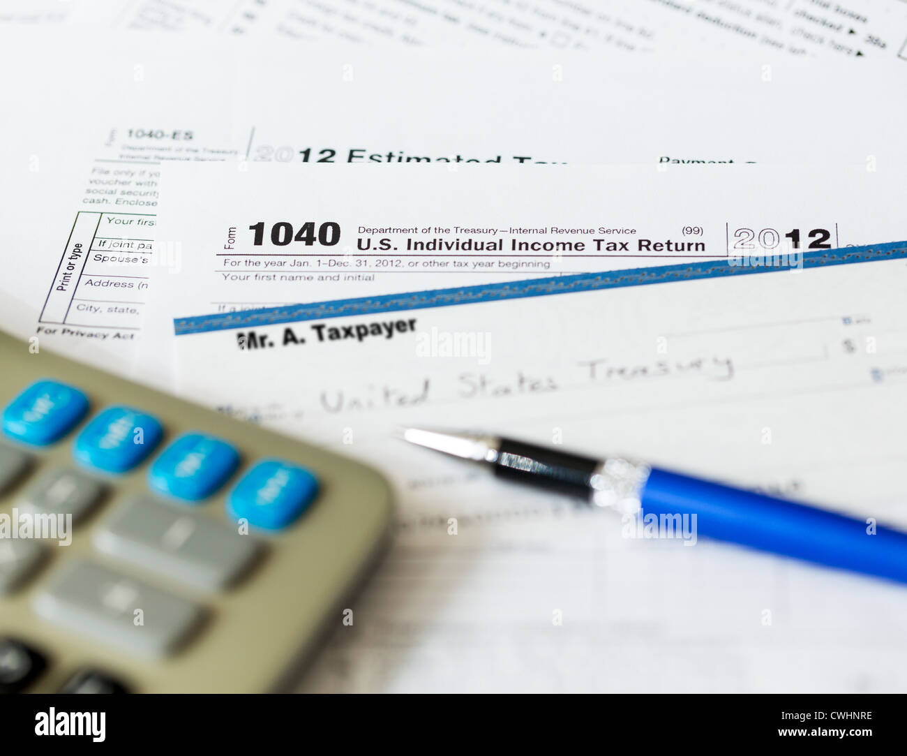 individual tax return 2012 instructions