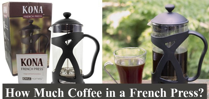 french press instructions how much coffee