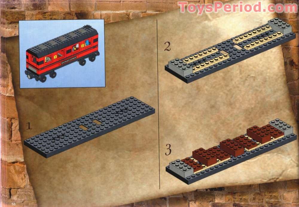 lego hogwarts express instructions