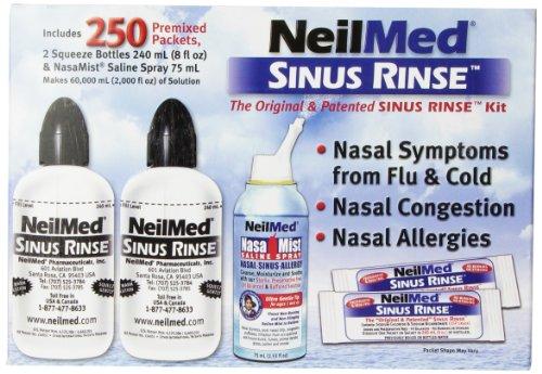 squeeze bottle sinus wash instructions
