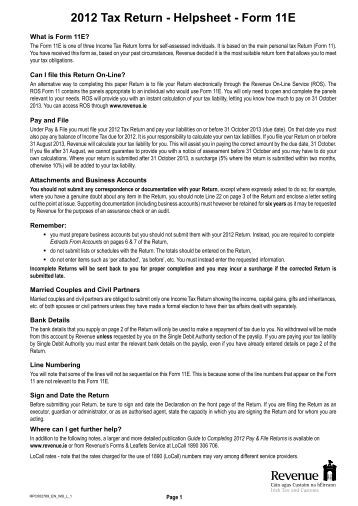 2012 tax return instructions