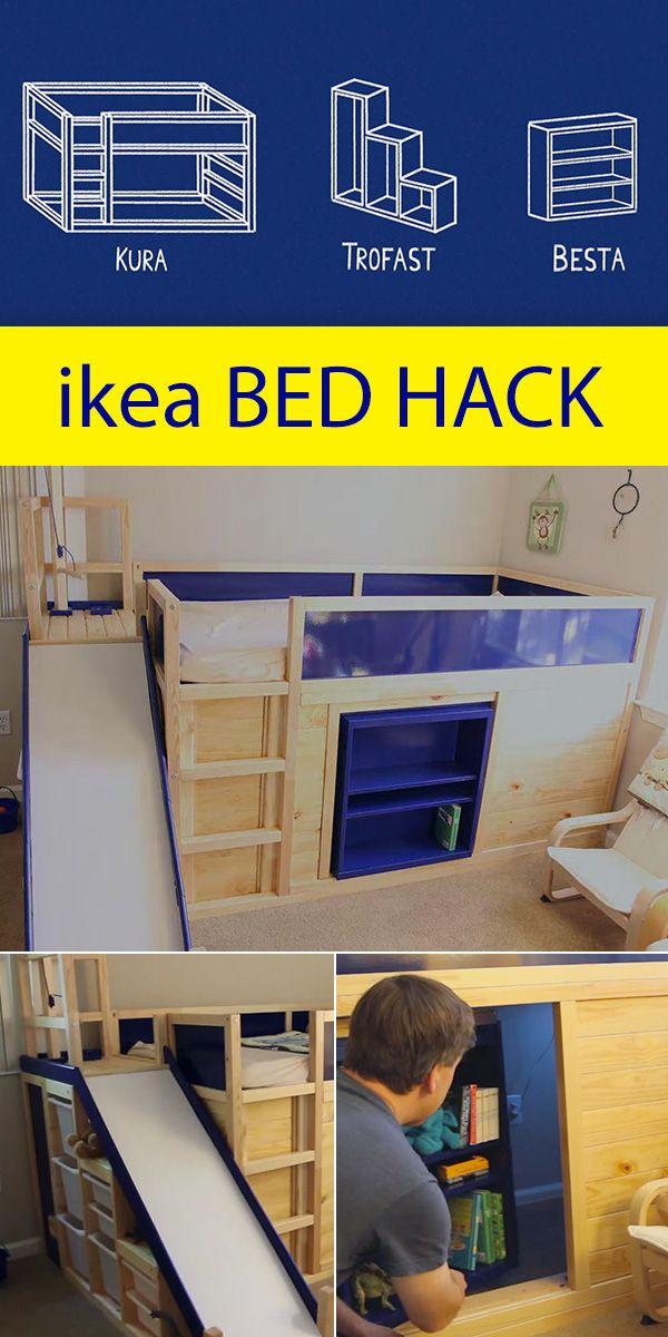 ikea kura bunk bed instructions