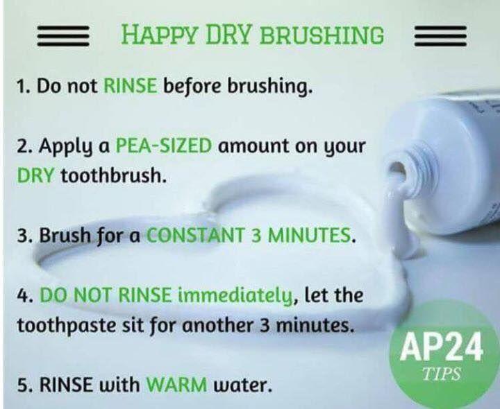 dry skin brushing instructions