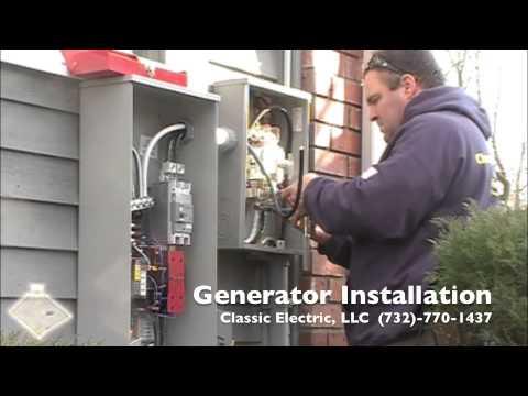 standby generator installation instructions