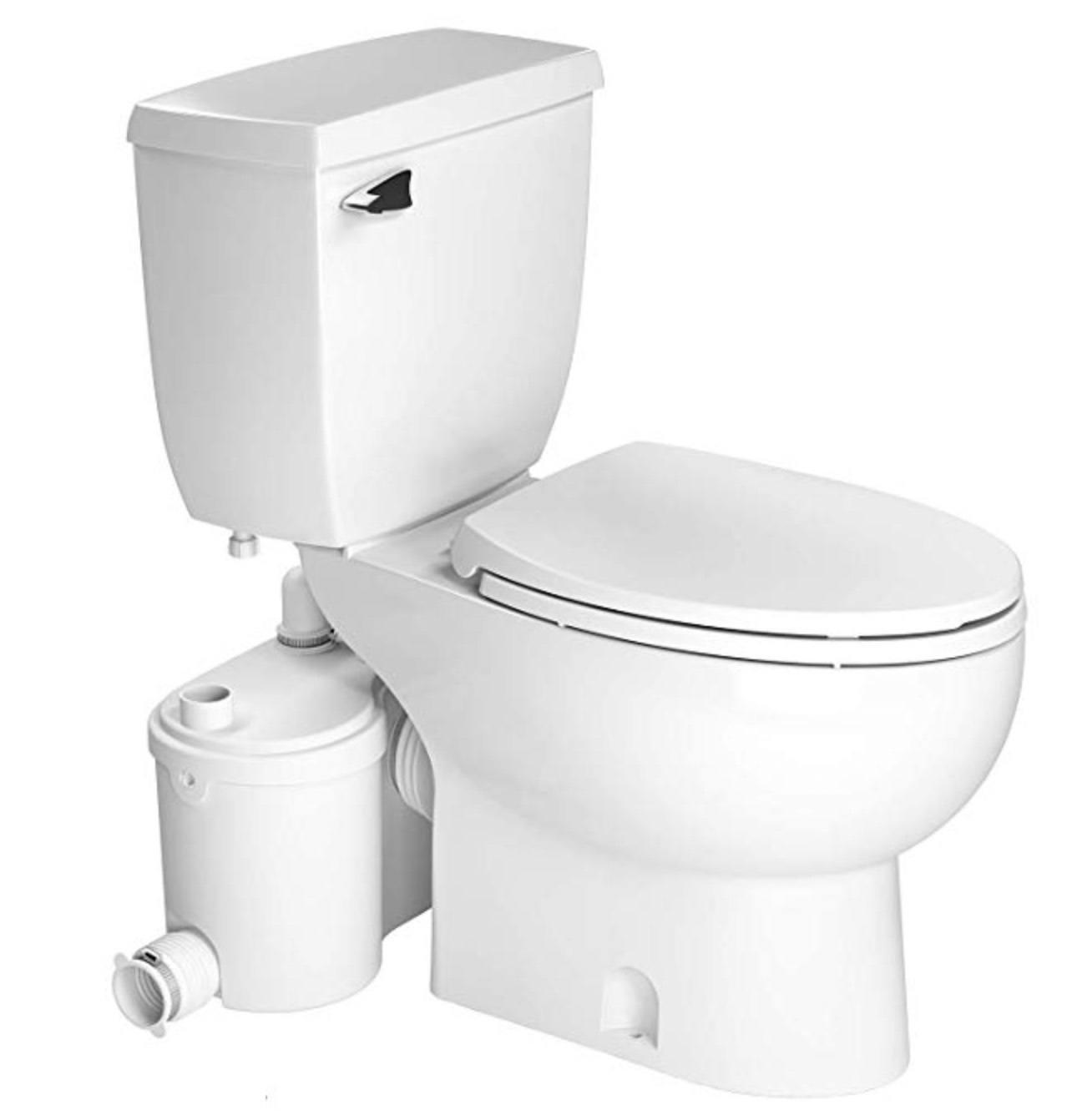 saniflo toilet installation instructions