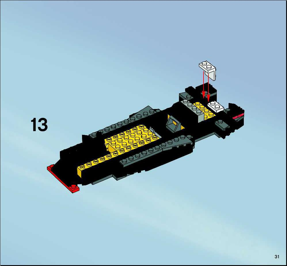 lego batmobile instructions 7781