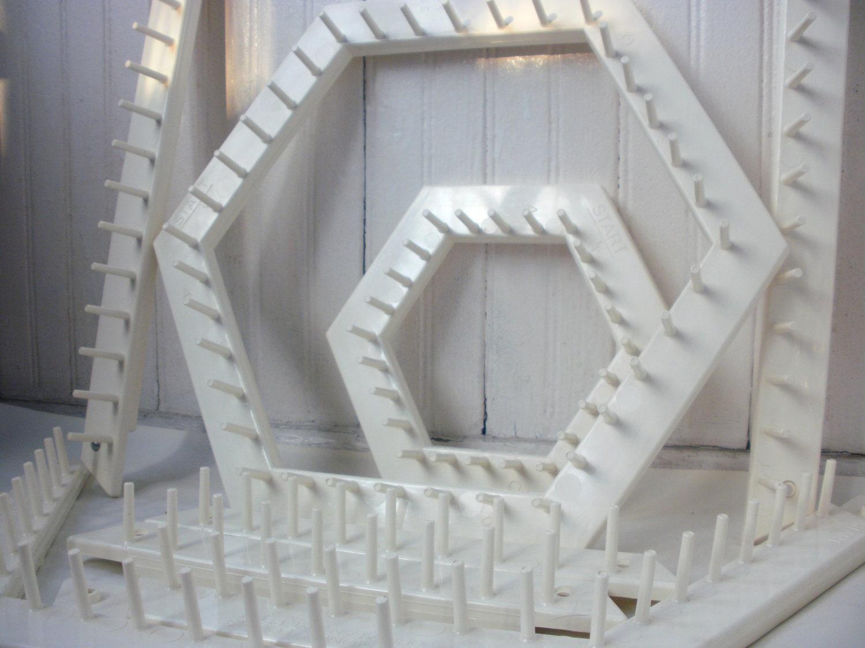 hexagon lap weaving loom instructions