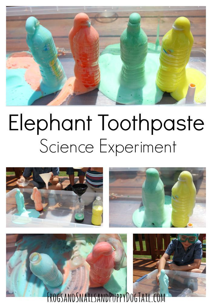 elephant toothpaste demo instructions