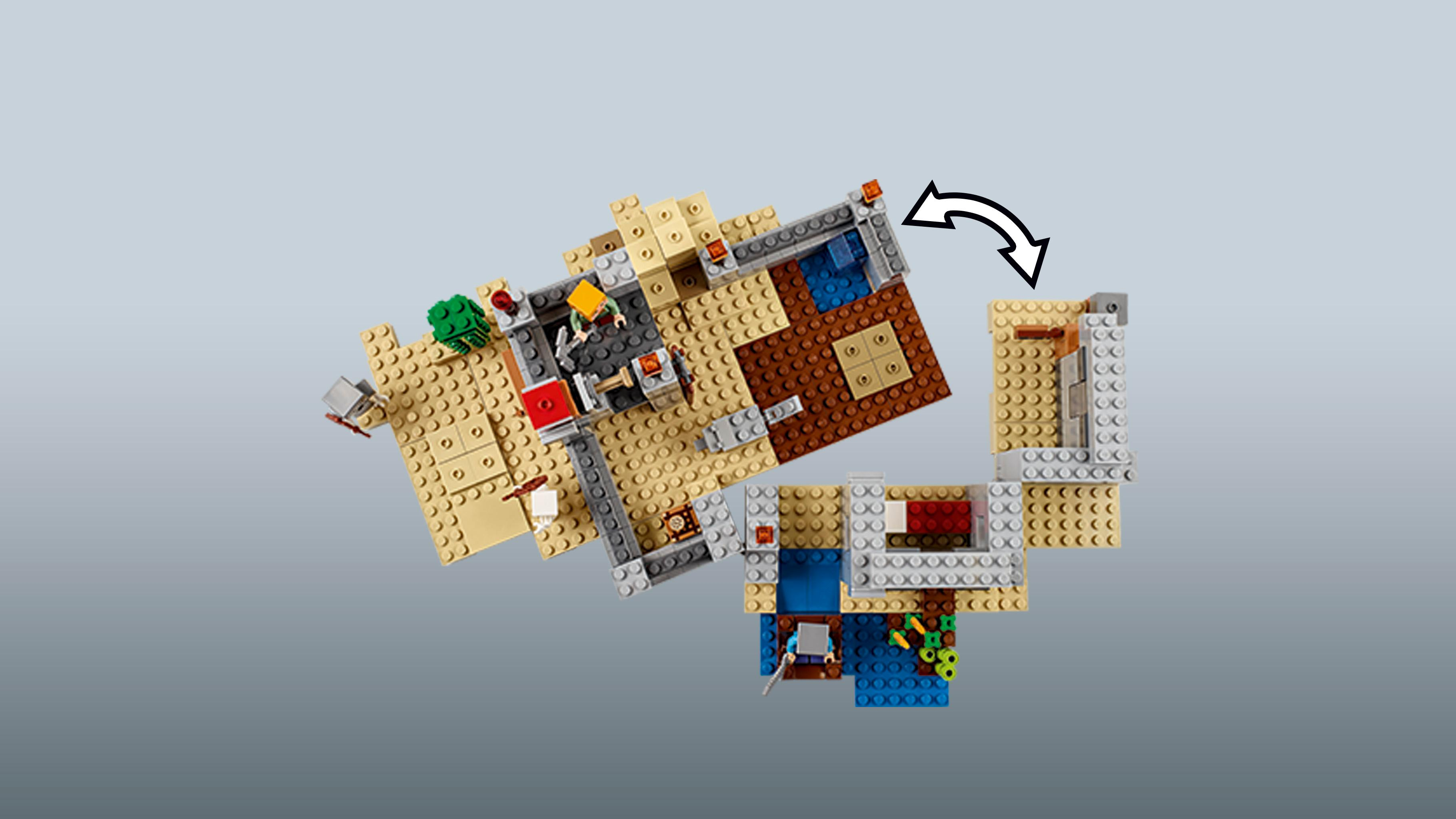 lego minecraft the desert outpost instructions