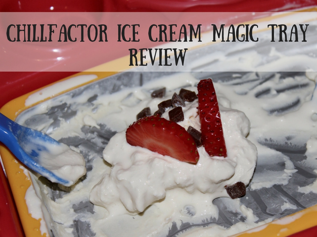 chill factor magic ice cream tray instructions