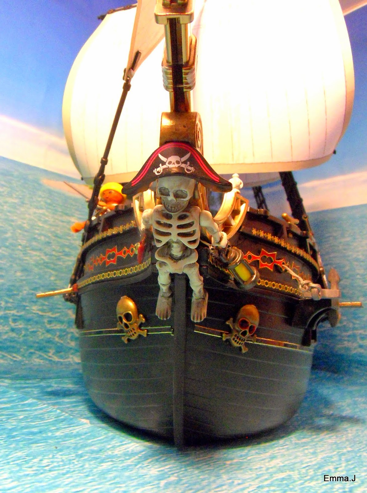 playmobil pirate ship instructions
