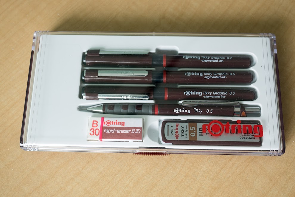 rotring tikky 3 in 1 instructions