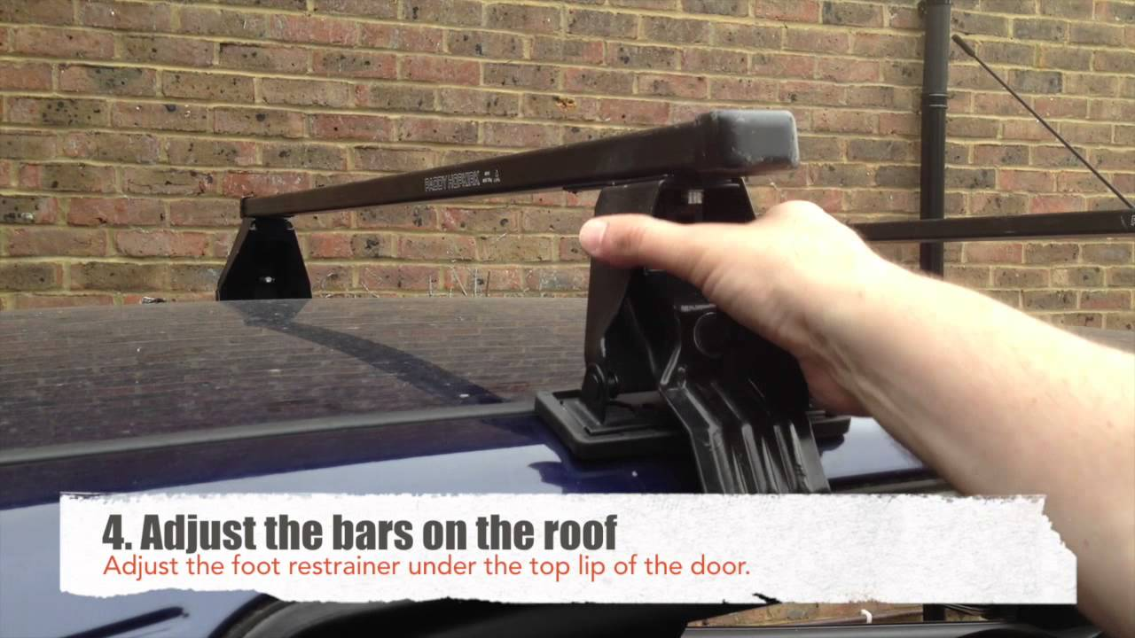 roof rack fitting instructions