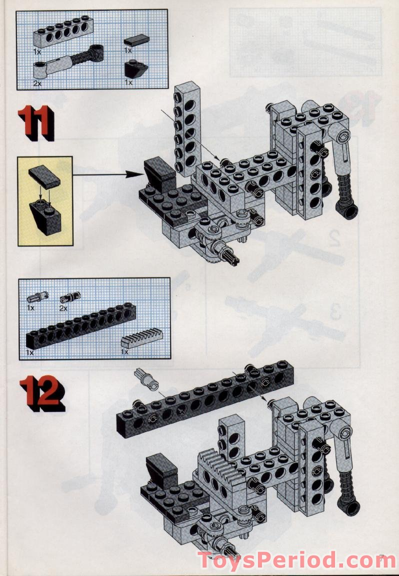 lego technic instructions free