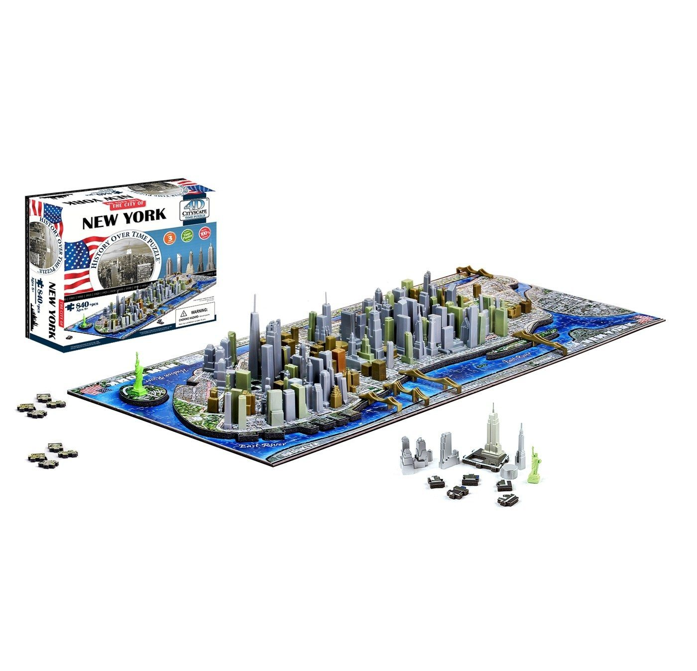 4d cityscape new york instructions