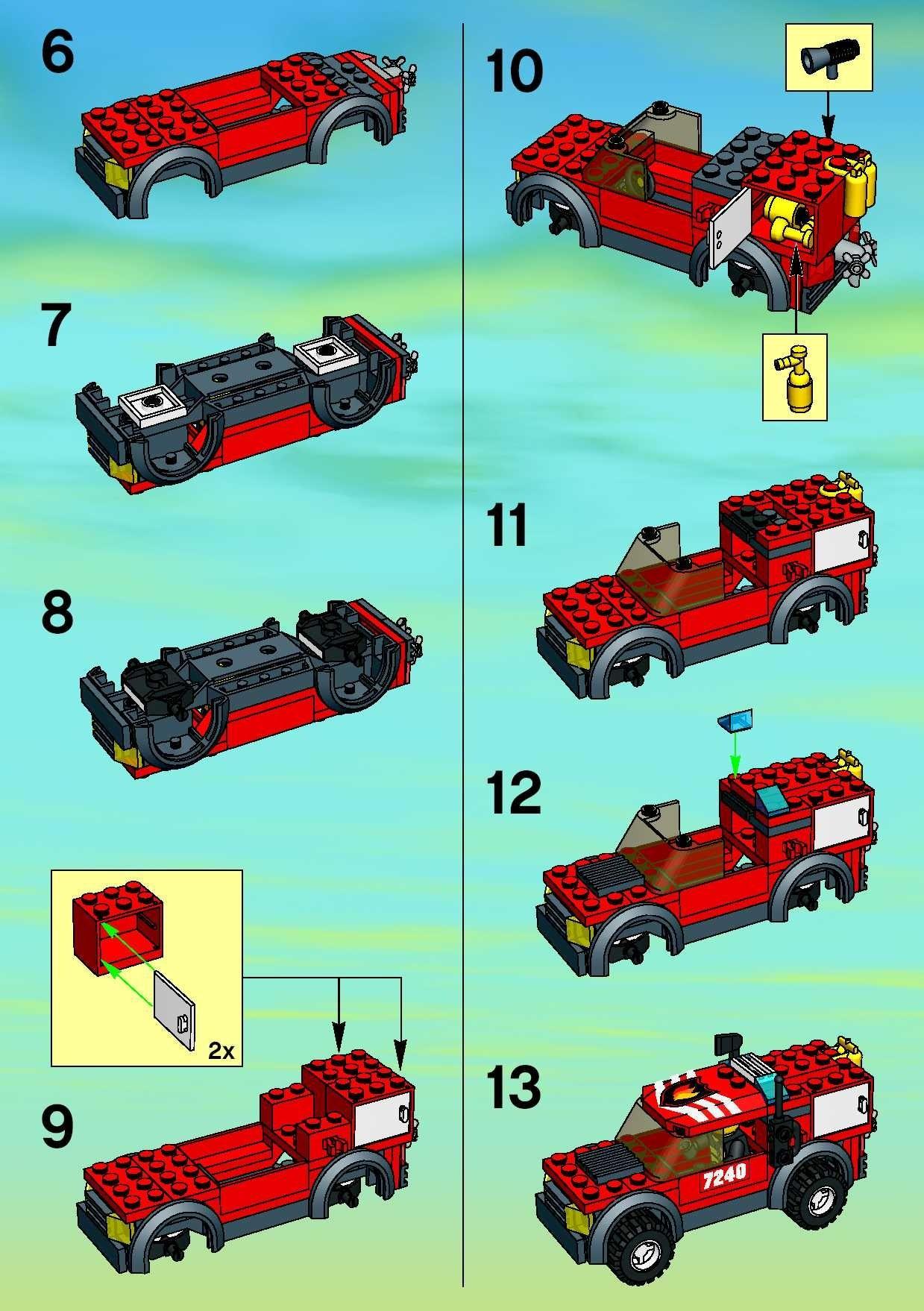 lego police car building instructions