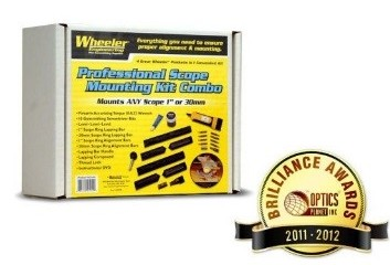 wheeler scope mounting kit instructions
