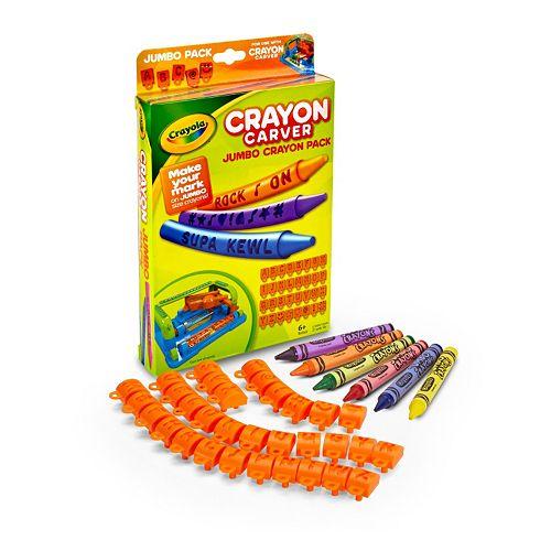 crayola crayon carver instructions