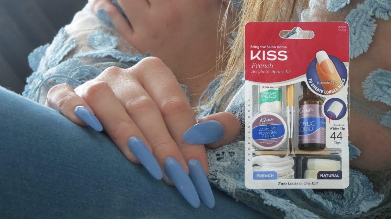 kiss acrylic nail kit instructions