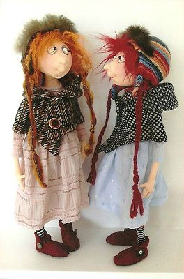 free cloth doll patterns instructions