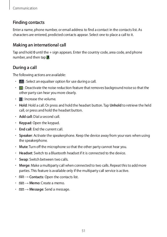 instruction booklet for samsung galaxy s4