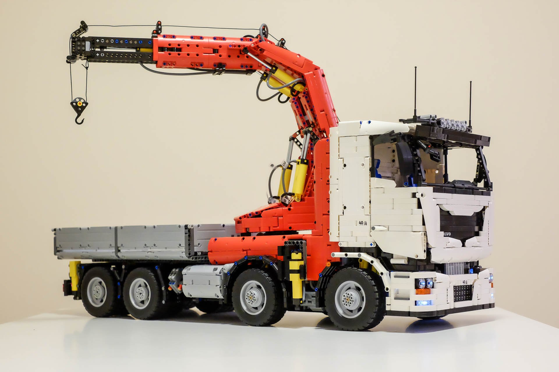 lego technic crane truck instructions