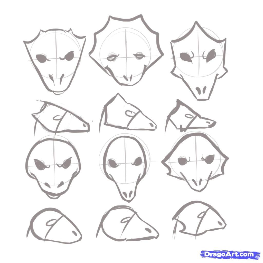how to draw dragons step by step instructions