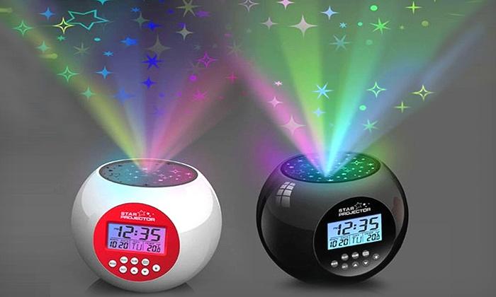 dreamer starlight projector alarm clock instructions