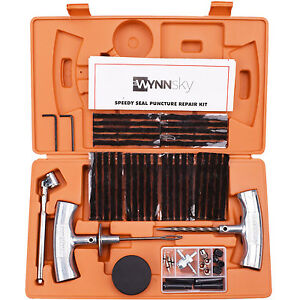 tubeless tire repair kit instructions