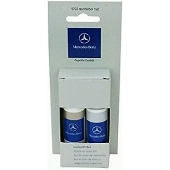 mercedes benz touch up paint instructions