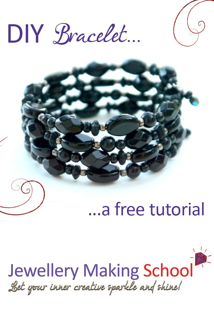 memory wire necklace instructions