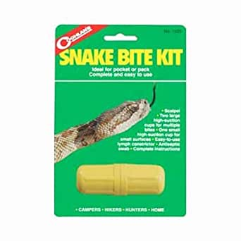 snake bite first aid instructions