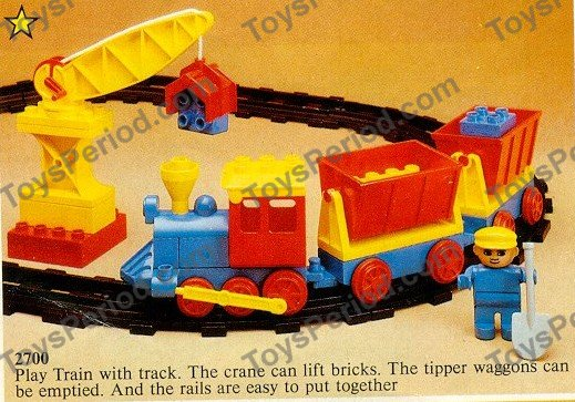 lego duplo number train instructions