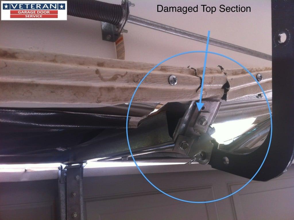 garage door operator reinforcement bracket instructions
