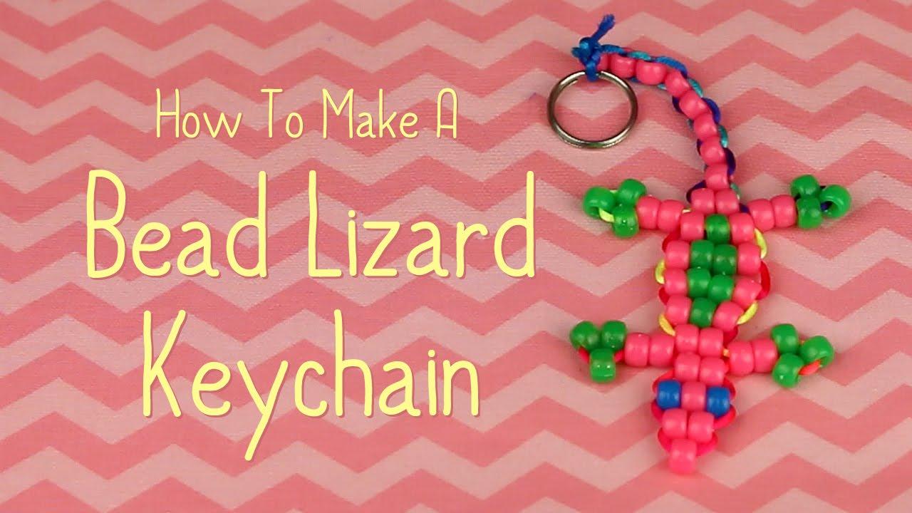 bead pet lizard instructions