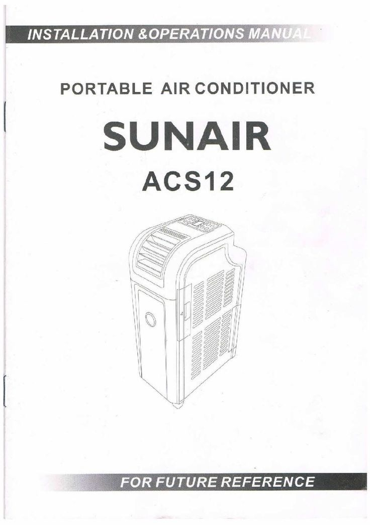 heller portable air conditioner instructions