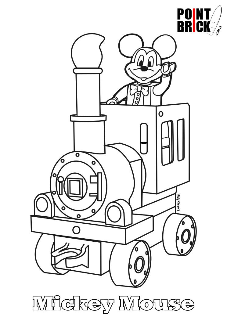 minnie mouse duplo instructions