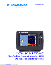lowrance fish finder instructions