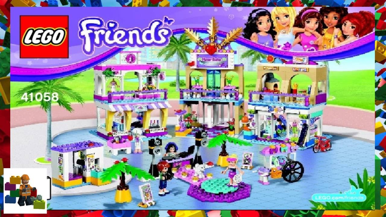 lego friends instruction books