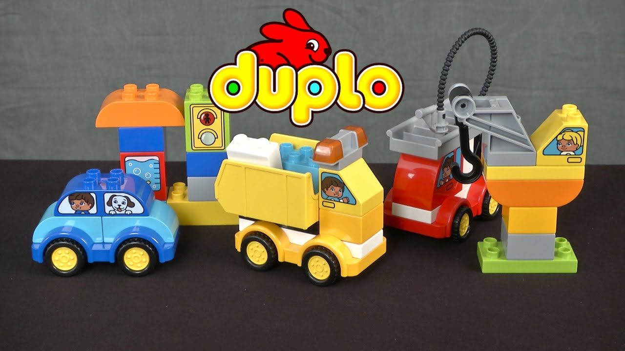 duplo my first cars and trucks instructions