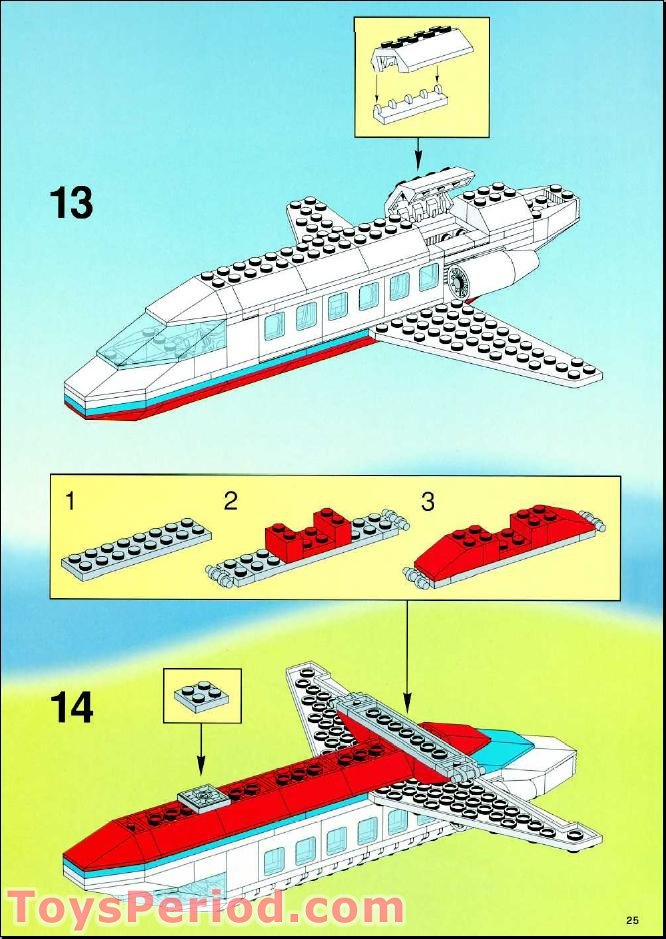 lego airport instructions 10159