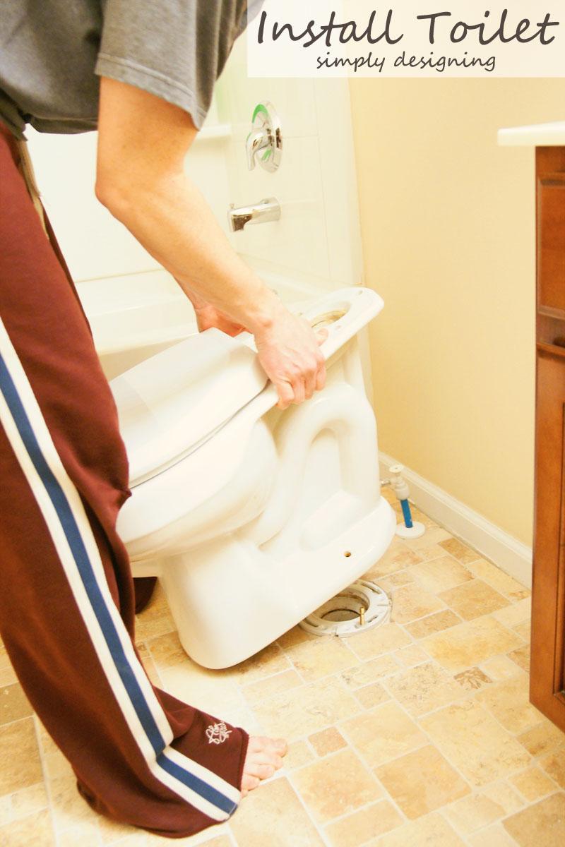 new toilet installation instructions