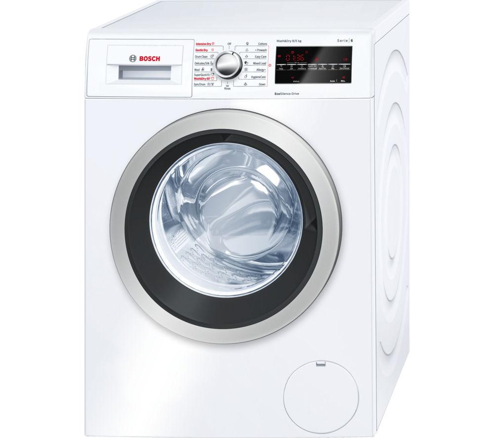 bosch washer dryer instructions