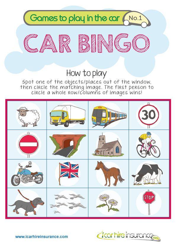 i spy bingo instructions
