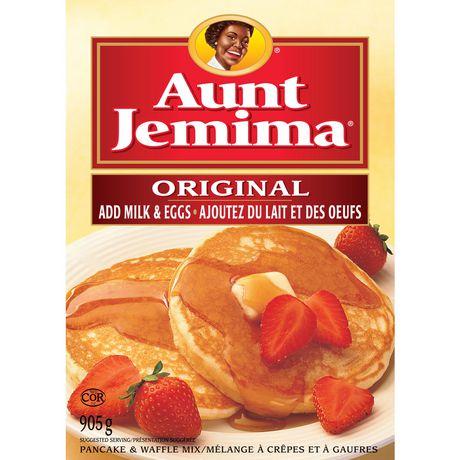 aunt jemima pancake mix instructions