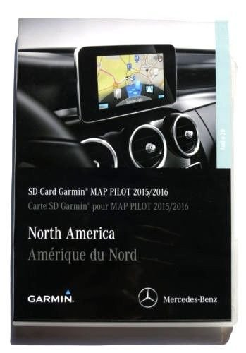 mercedes garmin map pilot instructions