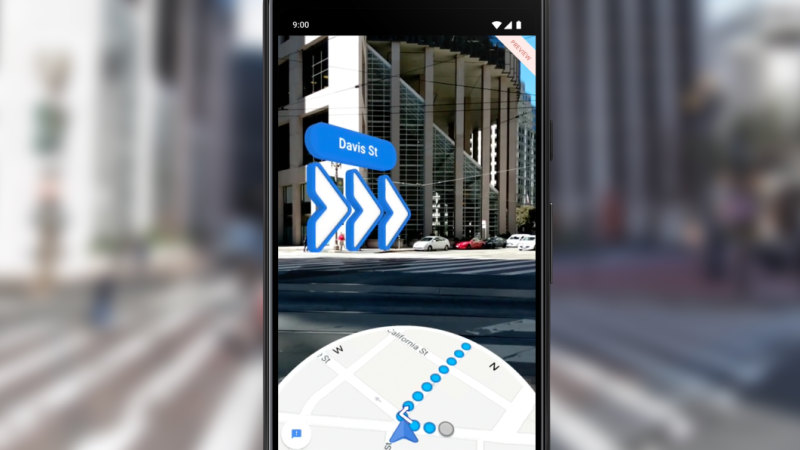 google maps navigation instructions