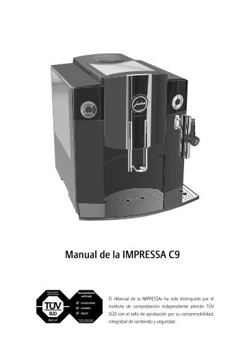 jura impressa c9 cleaning instructions